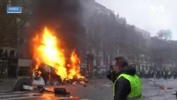 Fransa'da Yakıt Fiyatları Protestosunda Çatışmalar