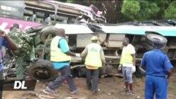 Watu 15 wafariki katika ajali ya mabasi Kenya