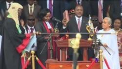 2017-11-28 美國之音視頻新聞: 肯雅塔開始領導肯尼亞的新任期 (粵語)