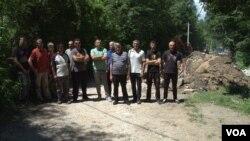Srbi i Albanci iz Štrpca koji protestuju zbog izgrade hidrocentrale