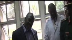 Magufuli katika ziara ya ghafla hospitali ya Muhimbili