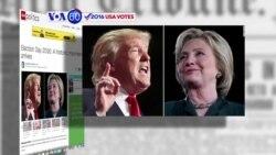 Manchetes Americanas 8 Novembro: Americanos escolhem quadragésimo quinto presidente da nação