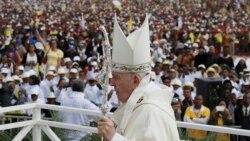 Le Pape François à Madagascar
