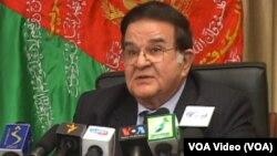 Jenderal Abdul Rahim Wardak hari Minggu (16/3) mengumumkan bahwa ia mundur dari pertarungan pilpres Afghanistan (foto: dok).
