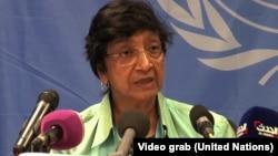 Pejabat HAM PBB, Navi Pillay mengutuk pelanggaran hak asasi manusia oleh kelompok militan ISIS (foto: dok).