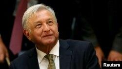Tổng thống Mexico , Andres Manuel Lopez Obrador.
