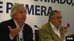 """El candidato a la presidencia por el Frente Amplio, José Mujica, dijo que no vetaría el proyecto de ley ya que no sería """"coherente"""" con lo que votó como legislador."""