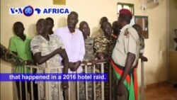 VOA60 Africa - South Sudan: Troops have been sentenced to jail for murder and rape during a 2016 hotel raid