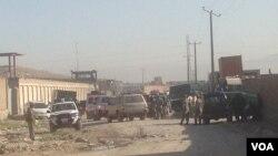 محل رویداد امروز صبح کابل