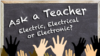 Electric, Electrical, or Electronic?