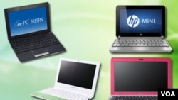 Los netbooks analizados son el EEE PC 1015PN, Acer Aspire One Happy, HP Mini 210 y Sony VAIO Y.