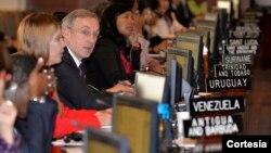 El Consejo Permanente de la OEA aprobó una resolución de apoyo al diálogo en Venezuela.