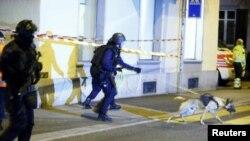 حضور پولیس سوئیس، در اطراف مسجد در زوریخ