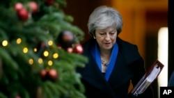 Britanska premijerka Tereza Mej