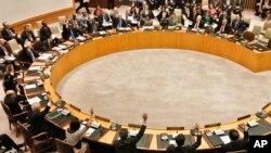 북한의 3차 핵실험 후인 지난 2013년 3월 유엔 안전보장이사회에서 북한에 대한 추가 제재 결의안을 채택했다.