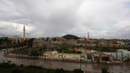 叙利亚边界城镇阿扎兹(2014年3月11日)