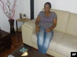 Leonor Pchubal, mãe de Danilo Ismael, morto no ano passado, num acidente, na Matola