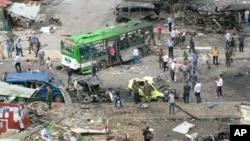Tartus u Siriji, posle bombaških napada
