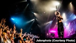 Japanese rock band 'One Ok Rock' performs all over the world