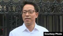 中国国务院新任港澳办主任张晓明 (苹果日报图片)