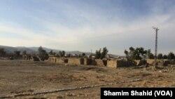 شمالی وزیرستان میں تباہ شدہ گھروں کا ایک منظر