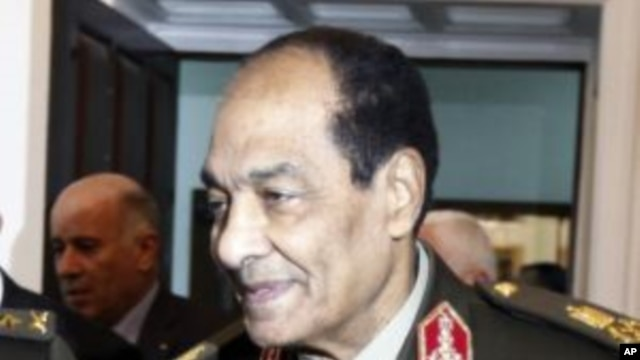 Field Marshal Hussein Tantawi, the head of Egypt's ruling Supreme Council of the Armed Forces (SCAF), in Cairo, Egypt, December  22, 2011.