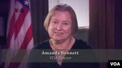 Amanda Bennett, VOA Director mengucapkan Selamat Hari Raya Idul Fitri