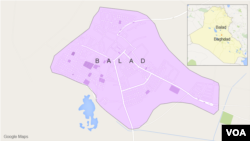 Wilayah Balad, Irak.
