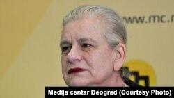 Borka Pavićević (Foto: Medija centar, Beograd)