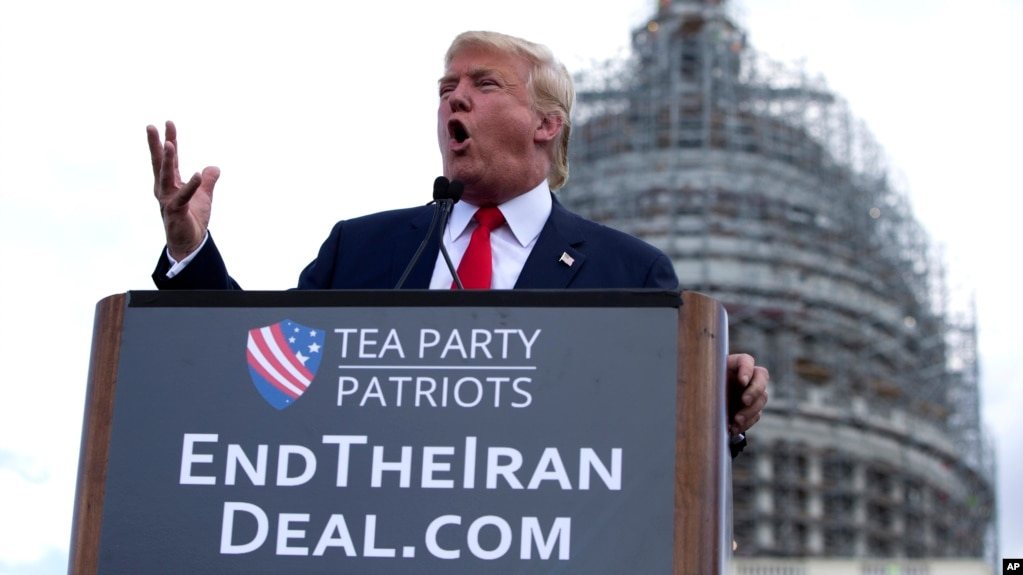Image result for donald trump iran