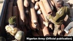 Sojojin Najeriya Sun Lalata Wurin Hada Bama-Bamai Na Boko Haram A Sambisa