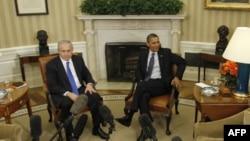 بنیامین نتانیاهو نخست وزیر اسرائیل و باراک اوباما، رئیس جمهوری آمریکا روز دوشنبه در کاخ سفید دیدار کردند.
