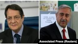 Nikos Anastasiades və Mustafa Akıncı