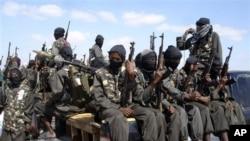 Kundi la wanamgambo wa al-Shabab ambalo linapambana na serikali ya Somalia