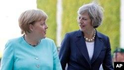 Germaniya kansleri Angela Merkel va Britaniya Bosh vaziri Tereza Mey