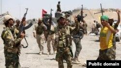 جنگجویان شیعه عراقی
