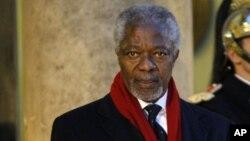 Mantan Sekjen PBB Kofi Annan dan para Sesepuh dunia mendesak Iran menggunakan kesepakatan nuklir sebaik-baiknya (foto: dok).