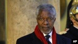 រូបលោក Kofi Annan ដែលជាប្រធានក្រុមដំណើរការទ្វីបអាហ្វ្រិច និងជាអតីតអគ្គលេខាធិការអង្គការសហប្រជាជាតិ។