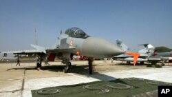러시아의 수호이-30 전투기 (자료사진)