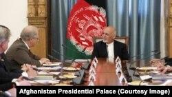 John Sopko met Afghanistan's President Ashraf Ghani