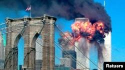 Amazu ya World Trade Center i New York ari mu yatewe mu 2001