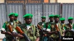 Soldados ruandeses na República Centro-Africana