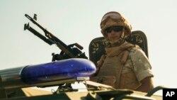 Российский военный полицейский в Сирии