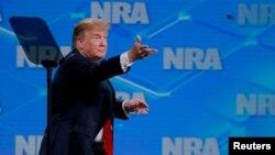 Виступ президента США Трампа на події Національної асоціації власників вогнепальної зброї