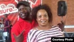 UPatricia Majalisa loEzra Tshisa Sibanda (Photo: Ezra Sibanda