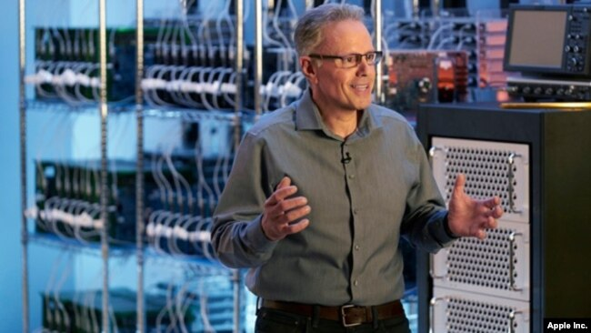 Johny Srouji, Apple's vice president for hardware technology, discusses the company's plans to switch to its own chips to power its Mac computers. (Apple)