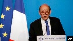 ژان ایو لودریان وزیر امور خارجه فرانسه - آرشیو