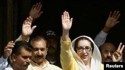 La défunte Benazir Bhutto, ex-première ministre du Pakistan