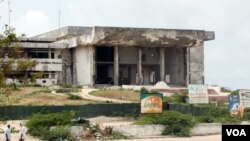 Somalia's Parliament, August, 2011