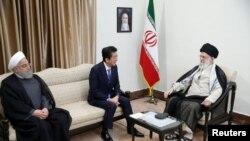 دیدار صدراعظم جاپان با مقامات ایران